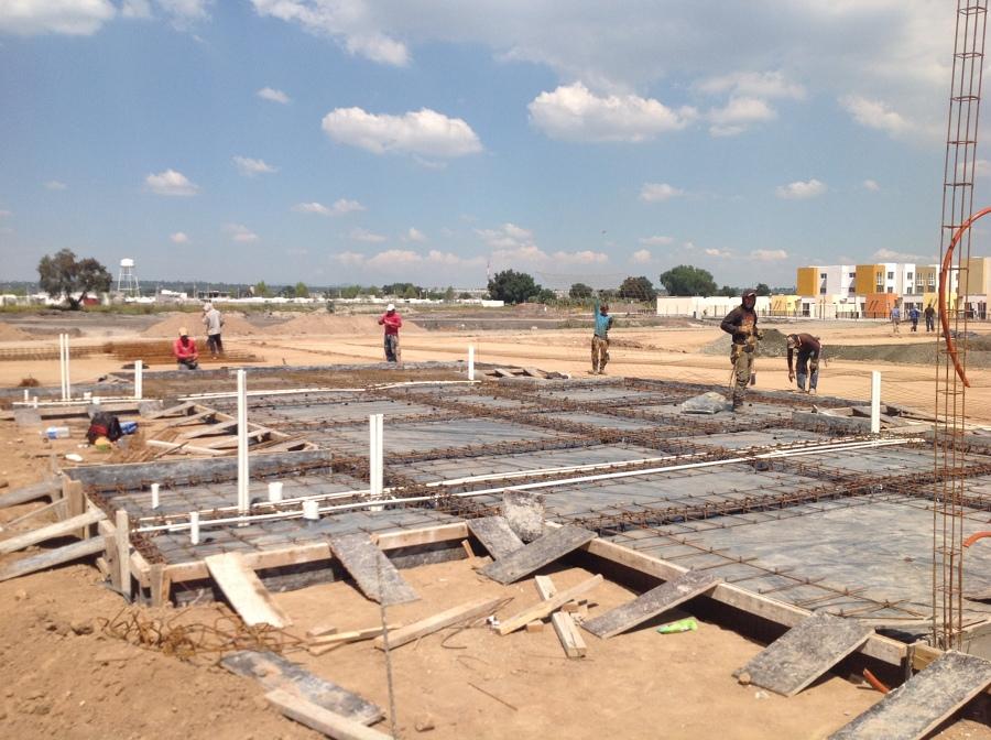 Foto hbilitado de acero en losa de cimentacion de for Ayudas para reformar la vivienda