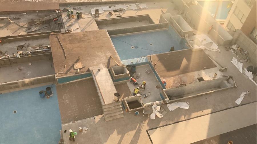 HOTEL THE ONE MAZATLAN CONSTRUCCION