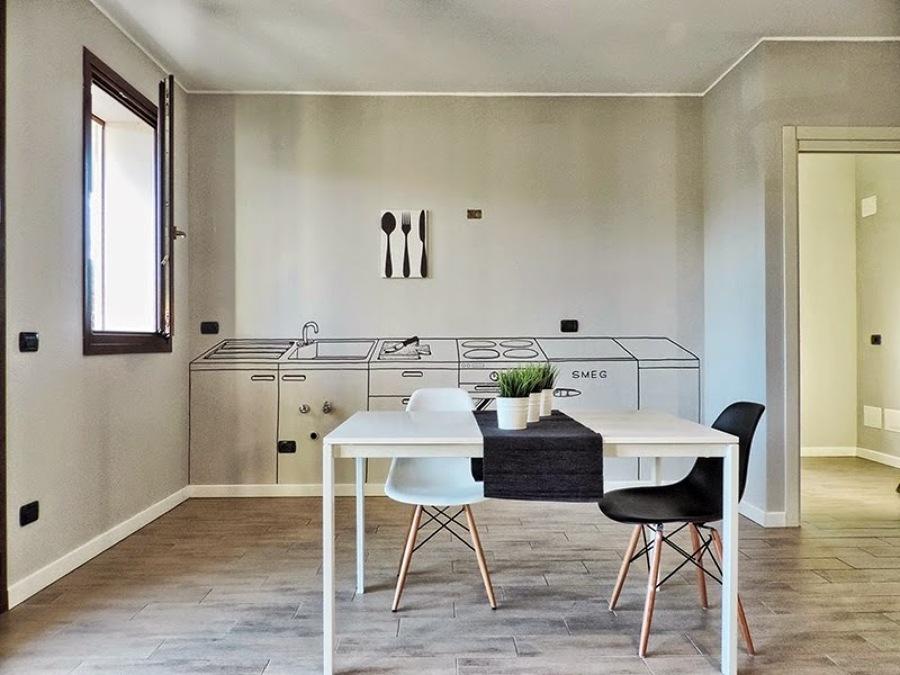 El hand lettering se instala en la decoraci n interior - Cocinas pintadas ...