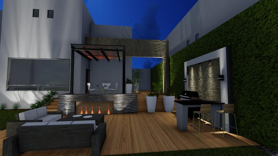 Terraza y asador ideas arquitectos - Iluminacion terraza ...