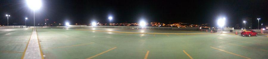 Iluminación estacionamiento planta alta
