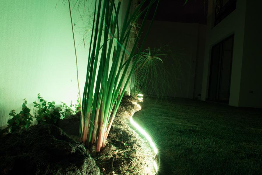 Iluminación jardín 1