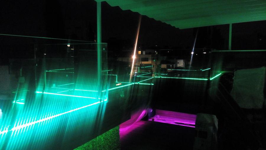 Iluminación Led perimetral