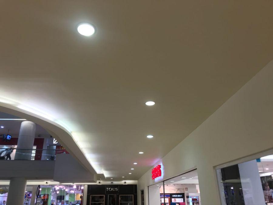 Iluminación pasillos