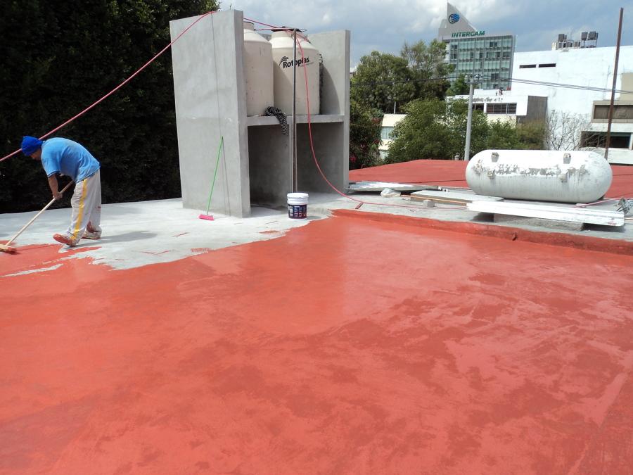 Impermeabilización de azotea