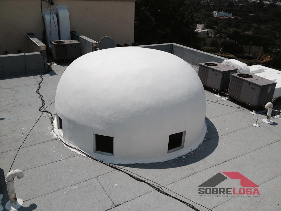 Impermeabilización de cúpula