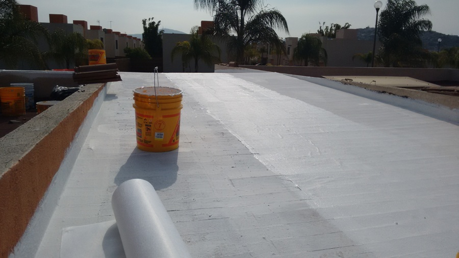 Construccion pintura e impermeabilizante ideas construcci n casa - Impermeabilizacion de tejados ...