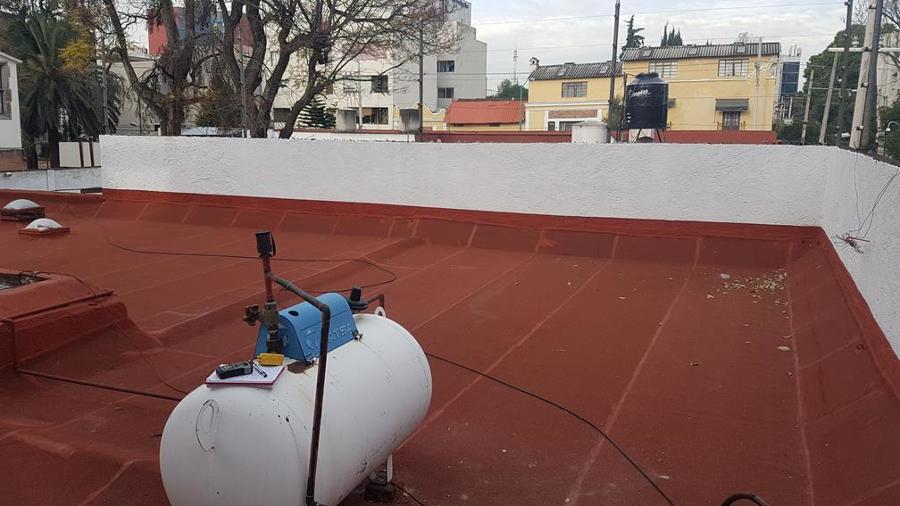 Impermeabilización losa y muros