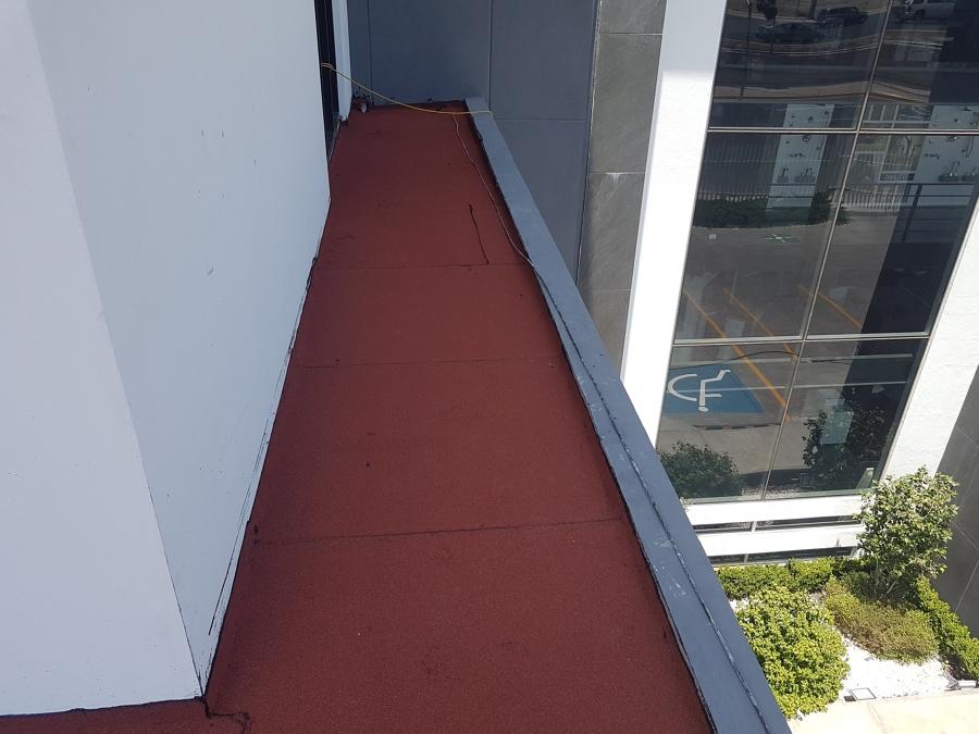 impermeabilizante prefabricado en balcon