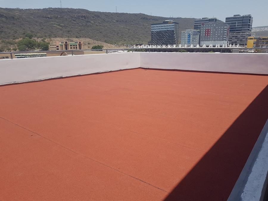 impermeabilizante prefabricado en terraza