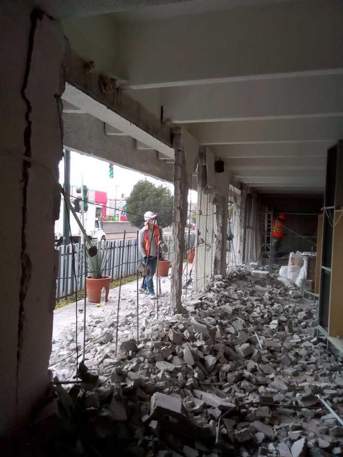 Inicio de Obra demolicion