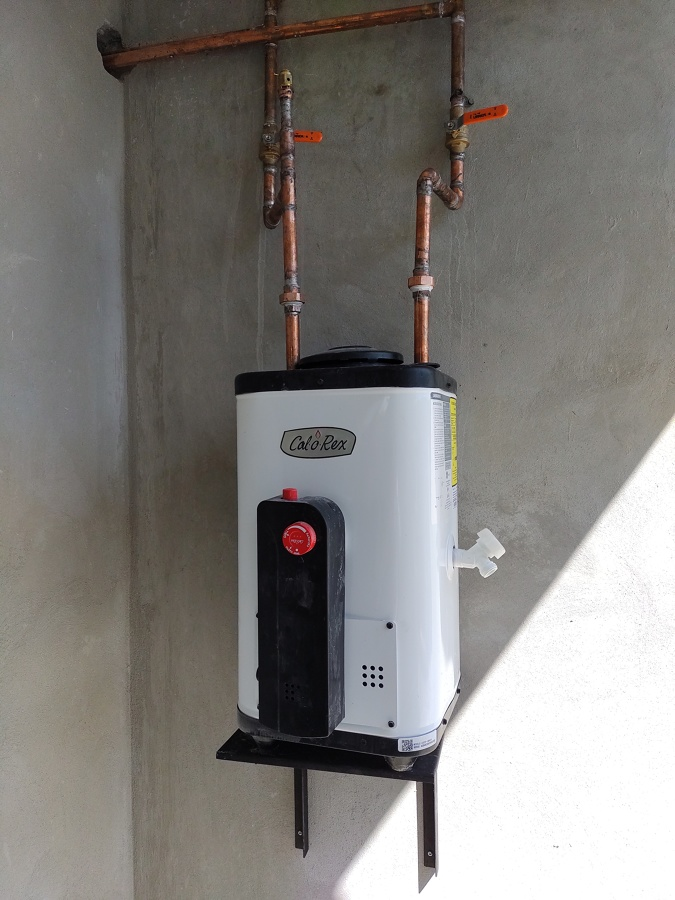 Instalación de boiler de paso para respaldo de calentador solar