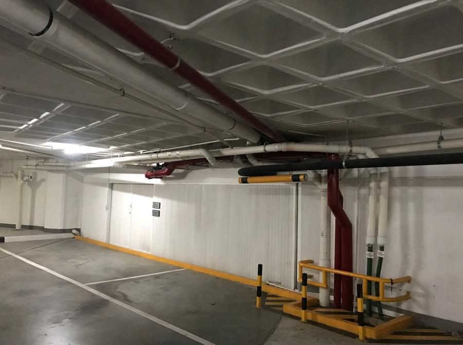 Instalacion de cuarto de bombas dentro del centro comercial