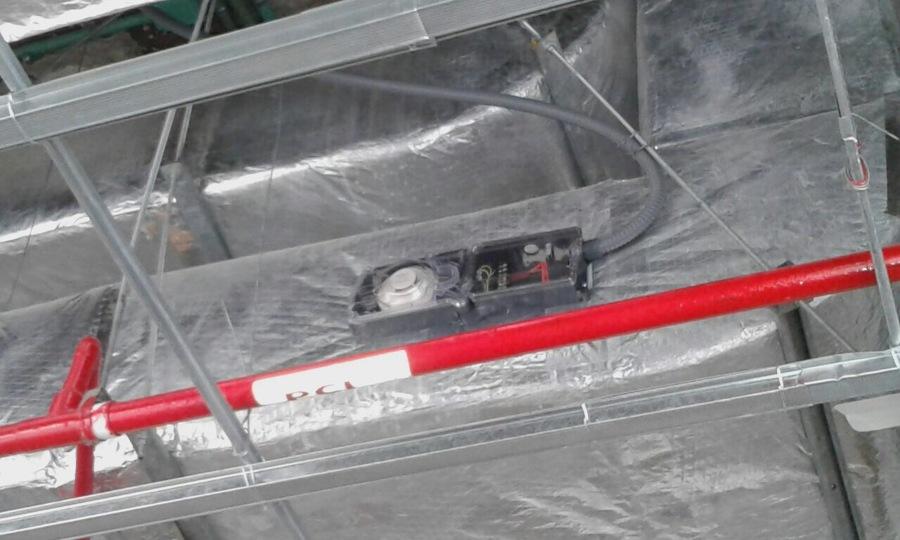 Instalacion de Dispositivos de Deteccion Vs Incendios