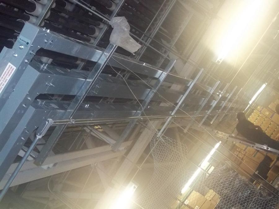 Instalación de ducto cuadrado