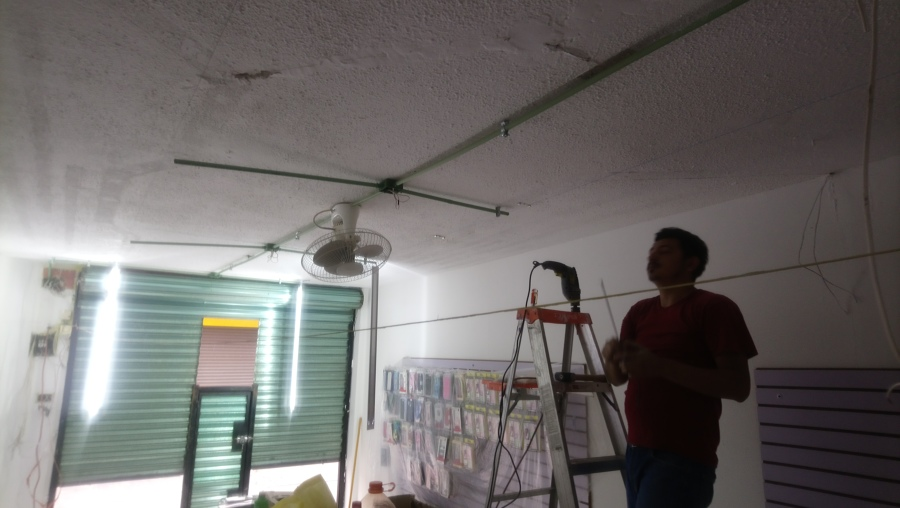 Instalación de ductos de pvc conduit pared lijera