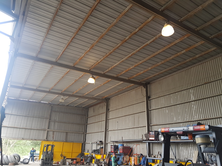 Instalación de Luminaria