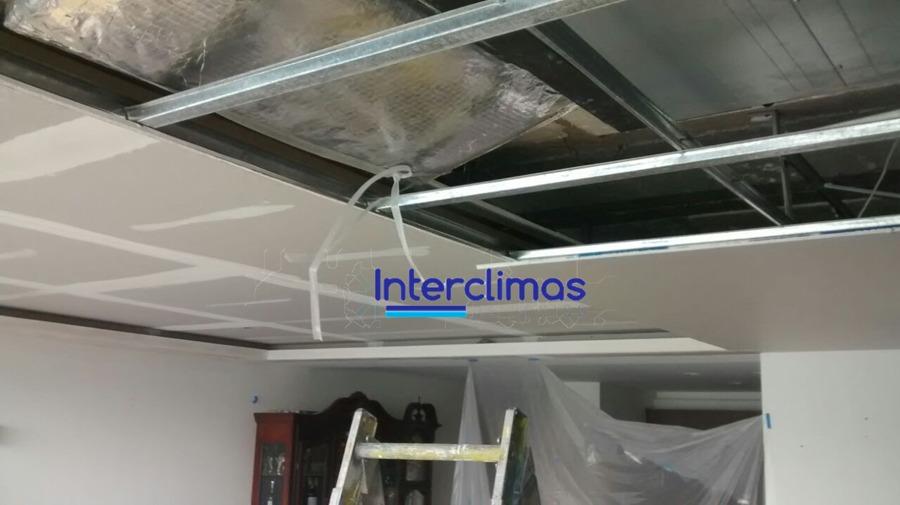 Instalación de plafón