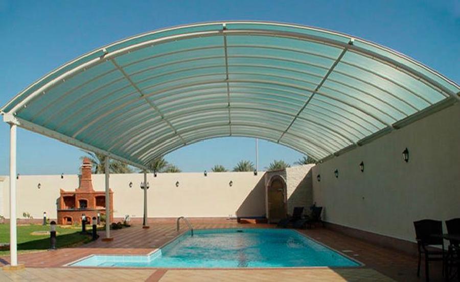 Instalacion de techo policarbonato arevolar ideas for Materiales para techos de casas