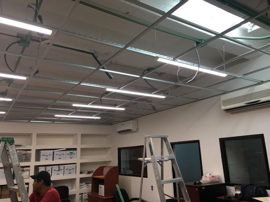 Instalacion Electrica en Oficina de Finanzas