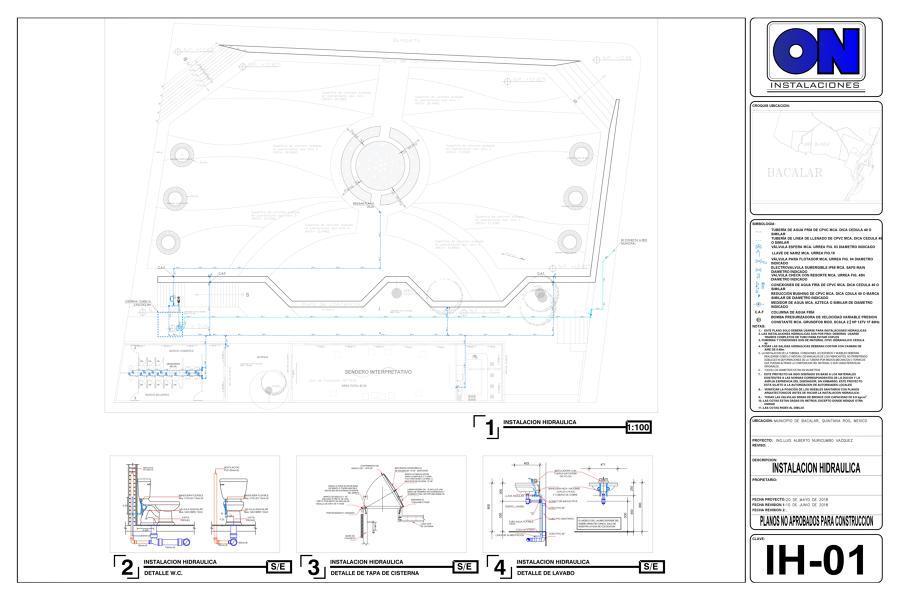 Instalación Hidráulica - Plano
