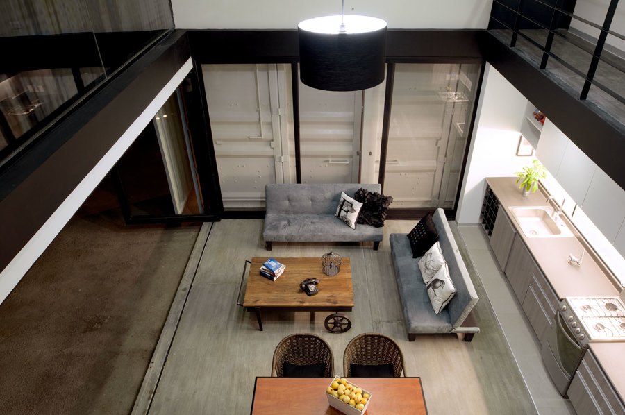 interior de la sala