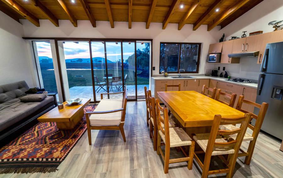 Interior - Sala y Comedor