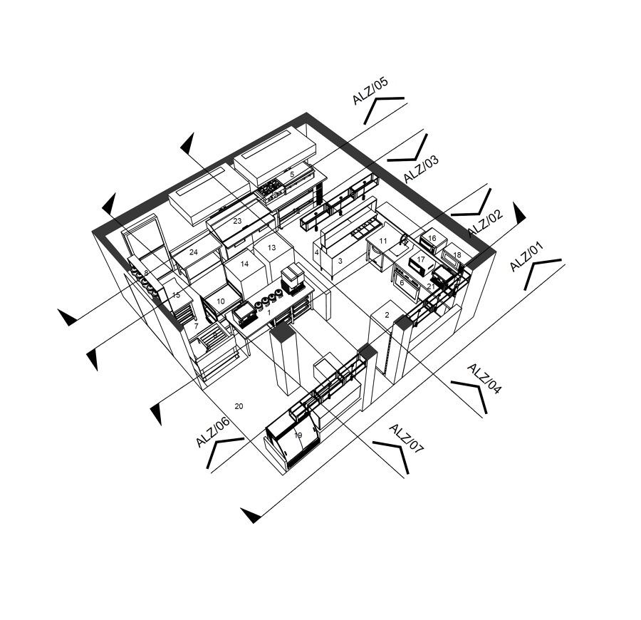 Isomètrico interior