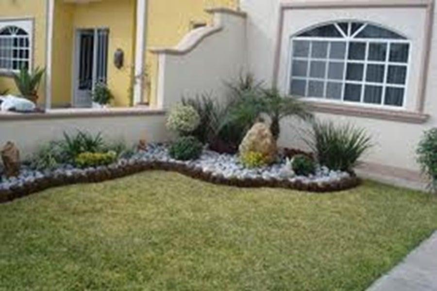 Foto jardin hermoso de jardines en tampico 163607 for Jardines exteriores de casas de campo