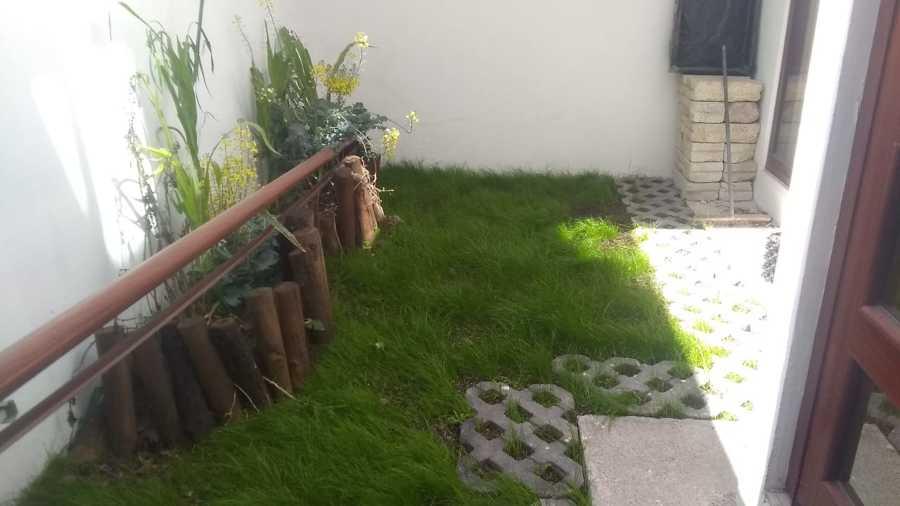 jardín pequeño