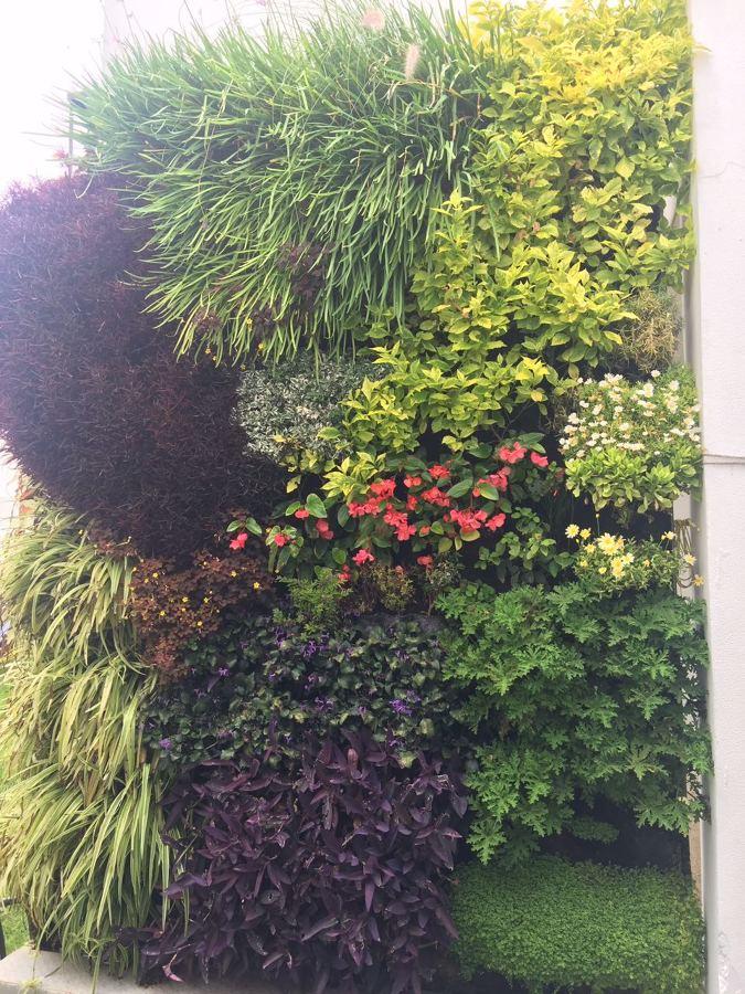 Jardín vertical móvil