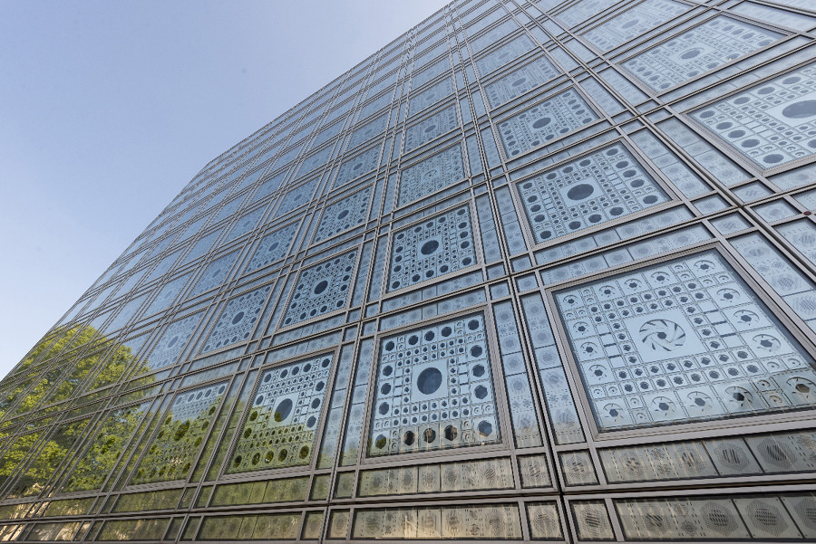 jean nouvel Instituto Mundo árabe