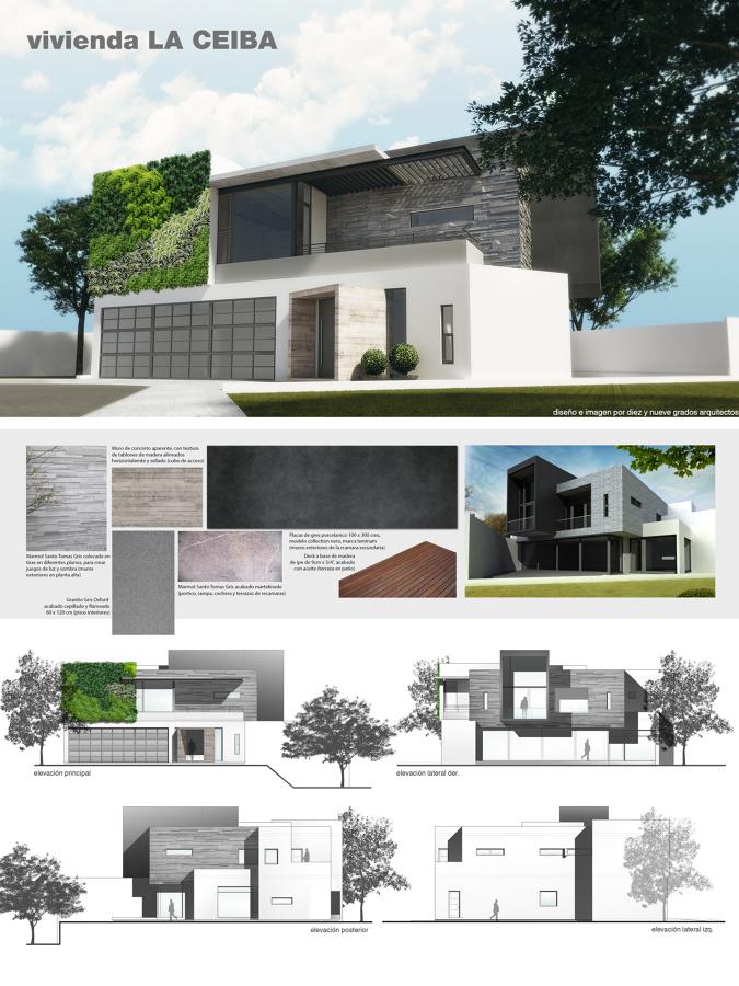 Foto l mina de presentaci n de diez y nueve grados for Laminas arquitectura