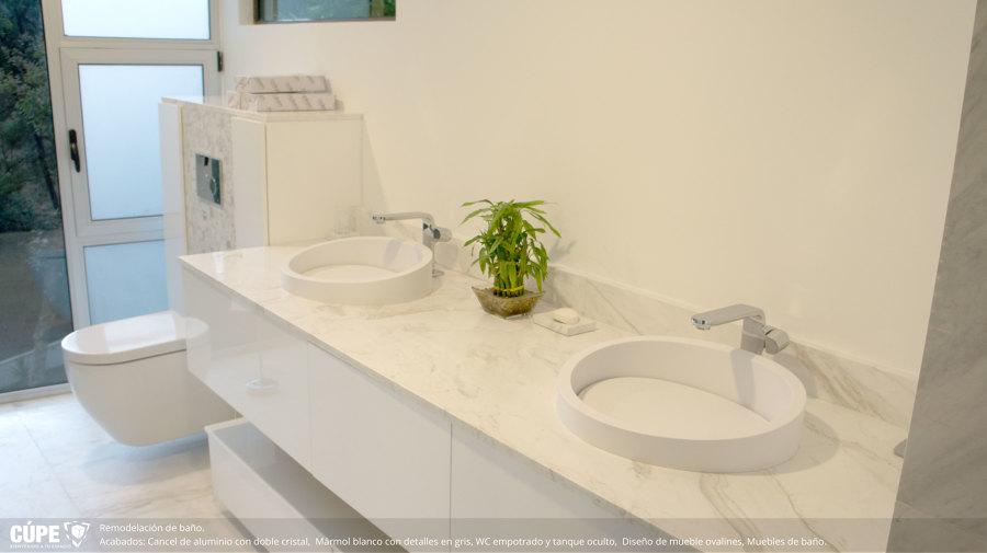 Foto lavabos con placa de m rmol de c pe 242038 for Placas de marmol medidas