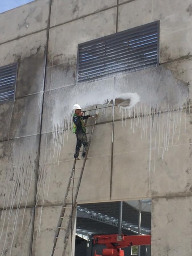Lavado de muros