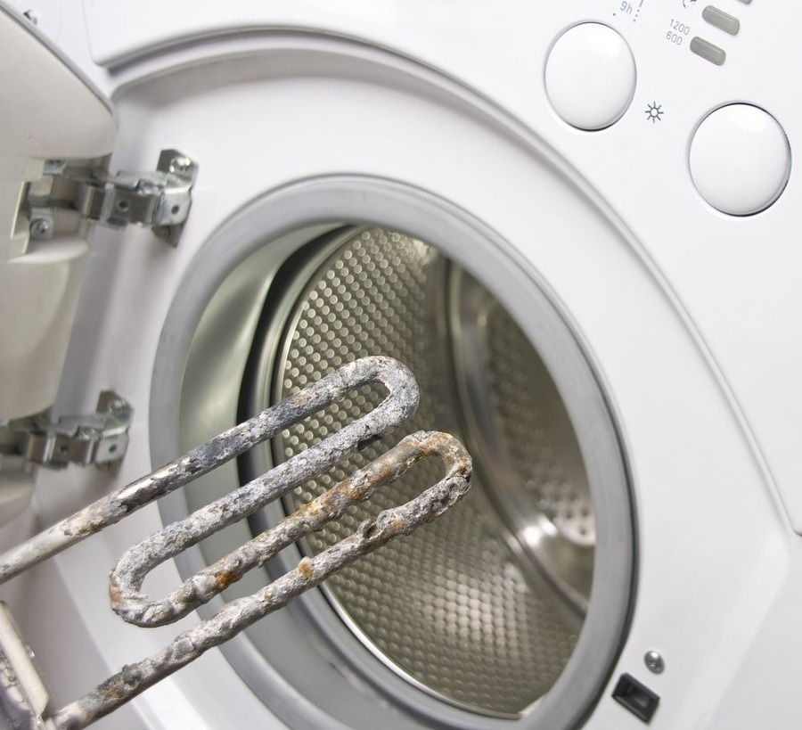 lavadora con cal