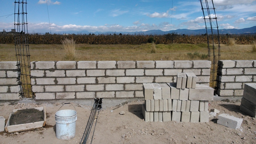 Levantamiento de muros
