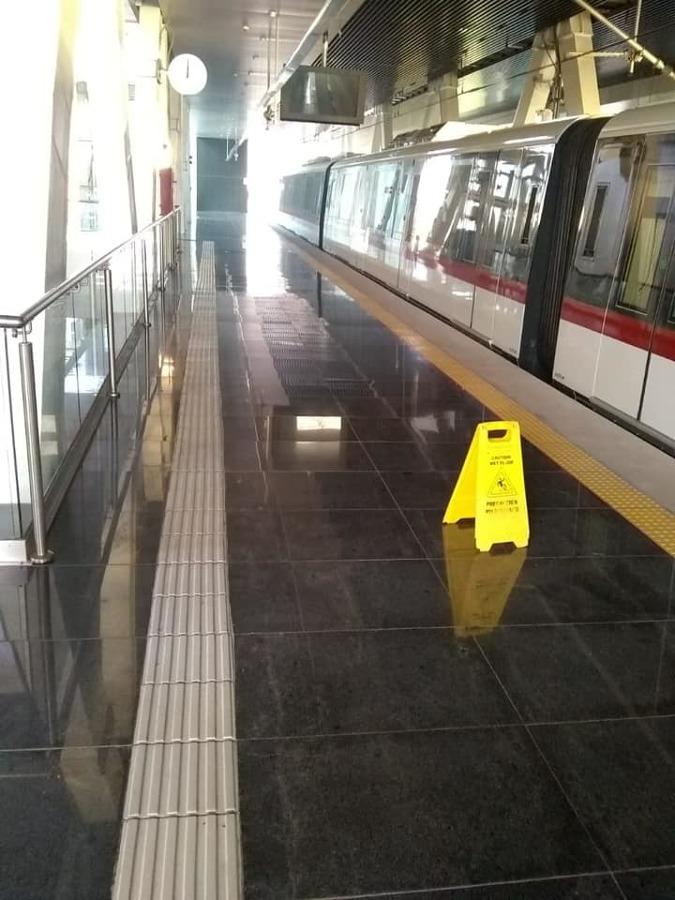 Limpieza de estaciones de TREN LIGERO Y TREN.