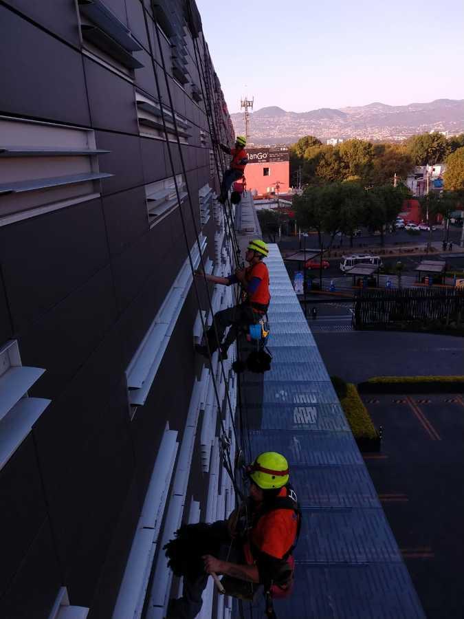 Limpieza de fachada y ventilación