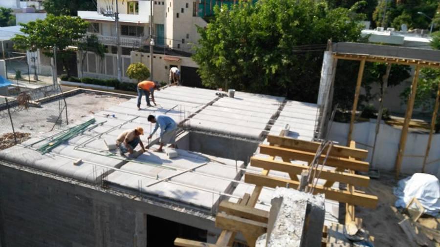 Salon 3 estrellas ideas arquitectos for Losa techo