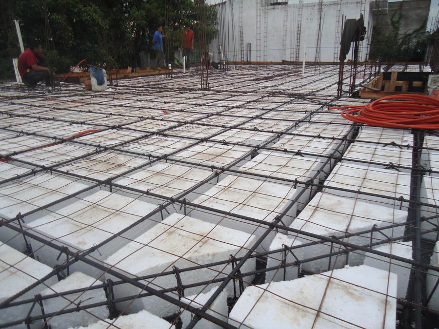 Losa reticular ideas construcci n casa for Losas de pared