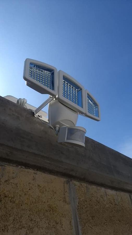 Luminarias con sensor