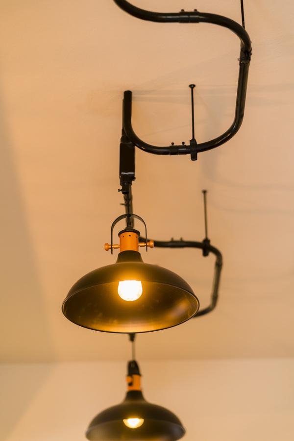Luminarias estilo industrial