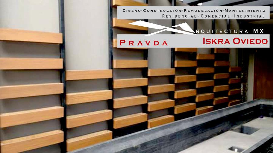 Foto madera en muros de pravda mx 241350 habitissimo - Muro de madera ...