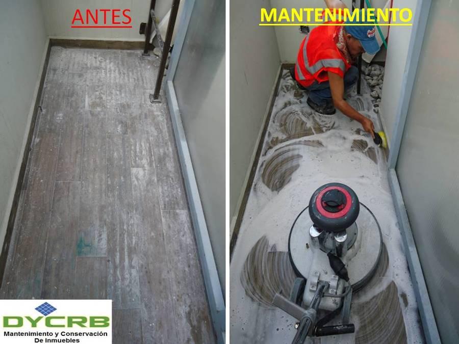 Mantenimiento a piso residencial