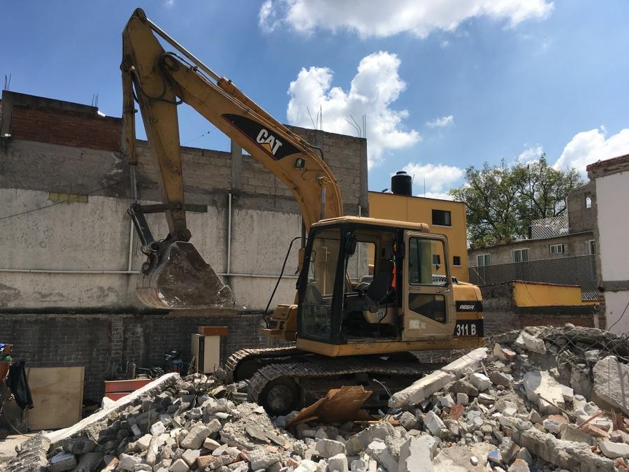 Maquinaria pesada para demolición