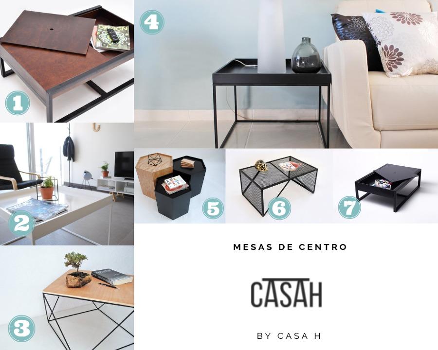 mesas de centro CASA H