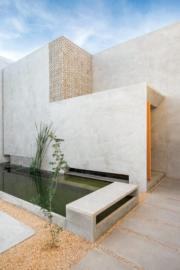 Microcemento en la terraza 5 ideas para introducirlo sin - Paredes de microcemento ...