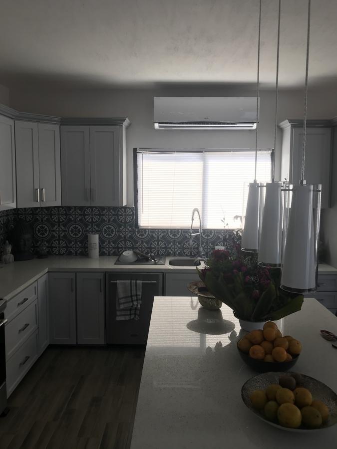Mini-split cocina