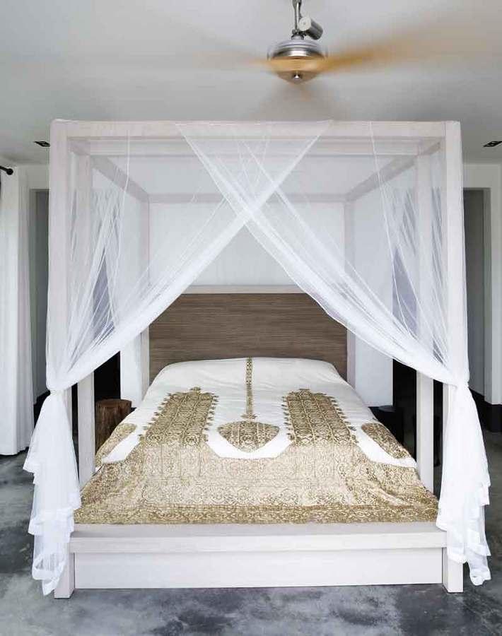 Foto cama con mosquitero 238764 habitissimo - Zanzariera da letto ...